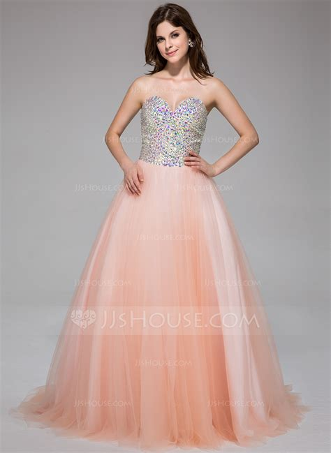 2 Die 4 Prom Dress by Gown Sweetheart Sweep Tulle Prom Dress With