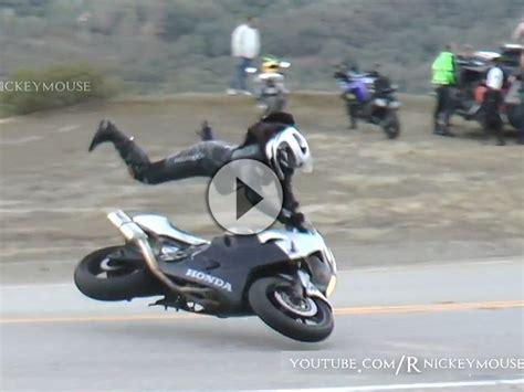 Motorrad Unfall Ktm by Motorrad Crash Honda Auf Der Snake Gehighsidert