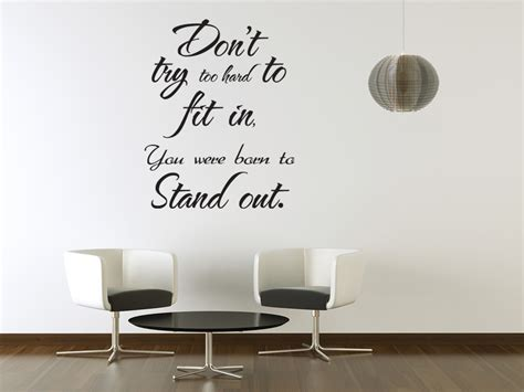 wall stickers inspirational quotes vinyl wall sticker saying decor decal quote inspirational stand out j43 ebay