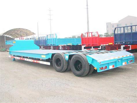 semi truck bed china low flat bed semi trailer china truck trailer