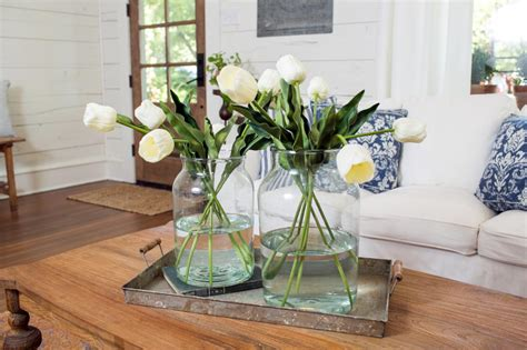 Fixer Dining Room Centerpieces Fixer Makeover A Style Packed Small Space Hgtv S