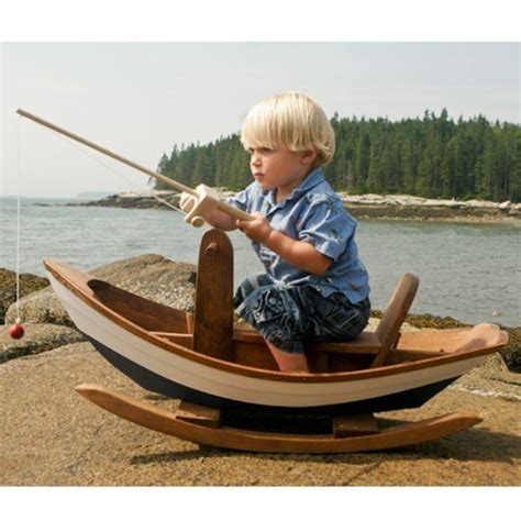 little boats for kids super cool maine dory rocking boat for your little sailors