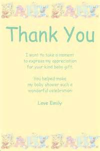 thank you phrases for baby shower personalised baby shower thank you card design 10