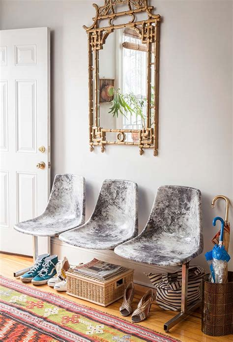 Decoupage Diy - diy decoupage marble fabric chairs design sponge