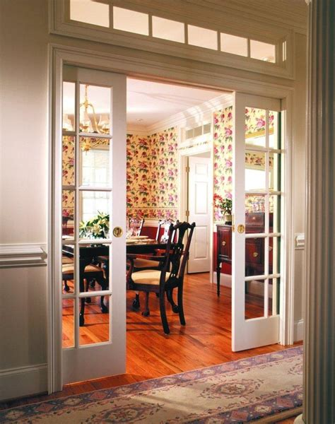sliding doors for living room pocket doors between living room and kitchen or between the living room and hallway old