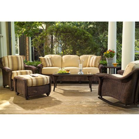 lloyd flanders patio furniture lloyd flanders oxford wicker ottoman 29017