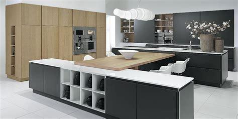 designer kitchen grey oak