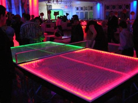glow in the pong table glow in the pong set glow home and the o jays