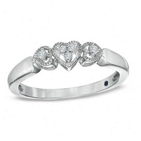 Zales S Day Rings Cherished Promise Collection Accent