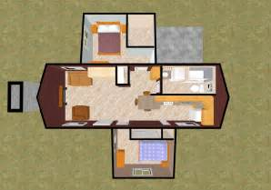 Two Bedroom Tiny House by Gallery For Gt Tiny House Plans 3 Bedroom
