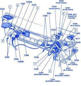 chevrolet pick up 1993 engine fuse box/block circuit