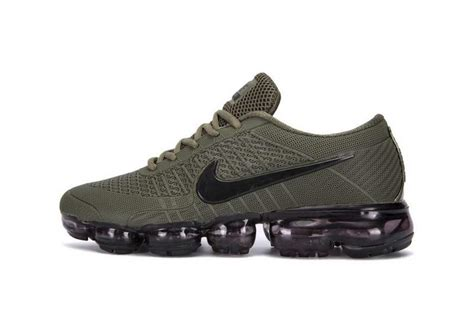 popular nike shoes most popular nike air vapormax plyknit olive green black