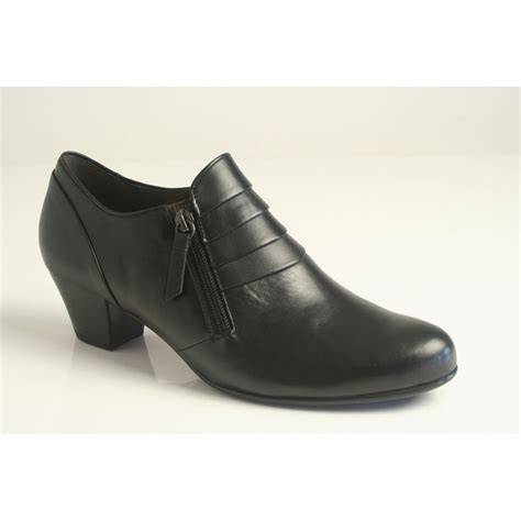 gabor gabor style quot cruiser quot black leather high cut shoe