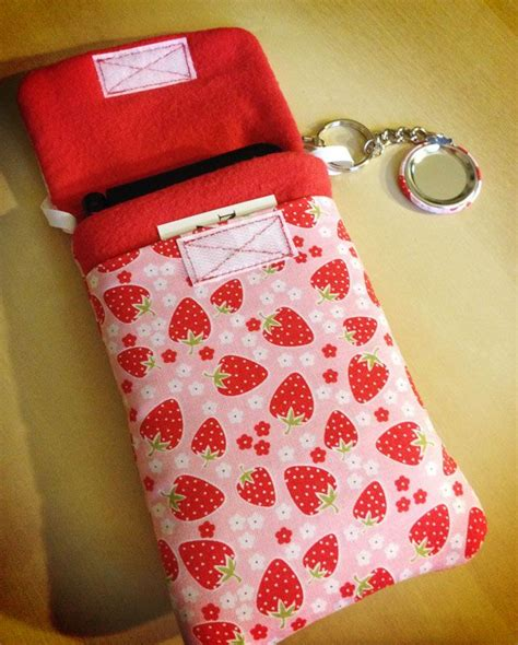 Handmade Phone - strawberry purselet handmade phone nintendo 3ds
