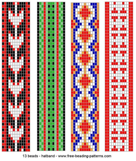 free patterns beading loom patterns