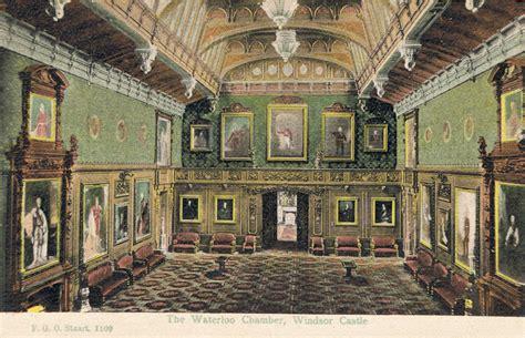 House Floor Plan edwardian postcard by f g o stuart of waterloo chamber
