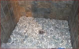 pebble tile shower floor lowes home design ideas