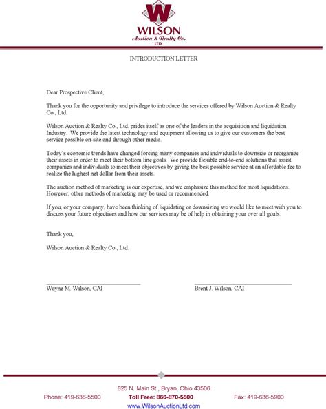 Sle Letter Of Introduction To American Embassy Sle Letter Introducing Your Business Letter Idea 2018