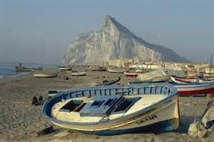 fishing boat in spanish spanish customs ship fires shots at gibraltar fishing