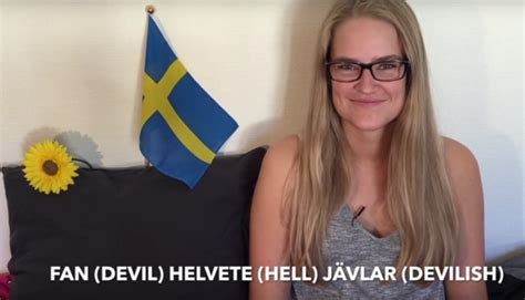 sweden bad sweden the use and abuse of swedish values in a post world books popular swedish swear words and how to pronounce them