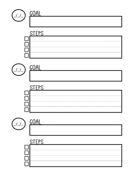 Goal Setting Worksheet Photo 2018 Educational Printable Pdf Printablebusiness Pdfbeautiful 2018 Goal Setting Template