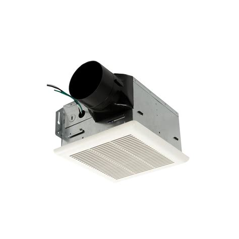 bathroom exhaust fan 50 cfm nutone heavy duty 50 cfm ceiling exhaust fan hd50nt the