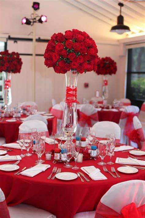 Charmant Table De Jardin Rouge #7: deco-mariage-fleurs-idee.jpg