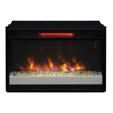 dimplex 25 in electric firebox fireplace insert df2524l