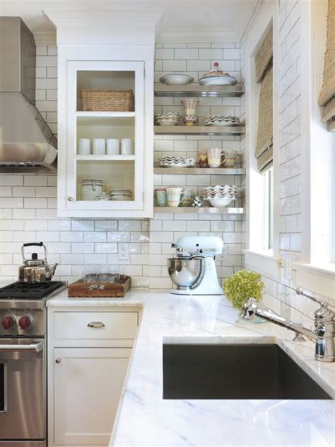 Houzz Kitchen Tile Backsplash | best white subway tile backsplash design ideas remodel