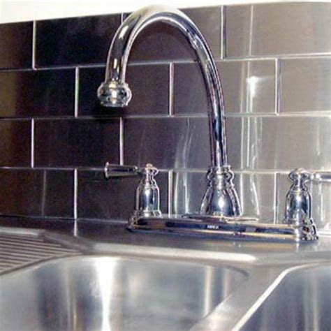 kitchen backsplash subway metal backsplash tiles with