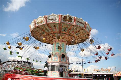 swings at the fair puyallup fair swings classic amusement park swings at