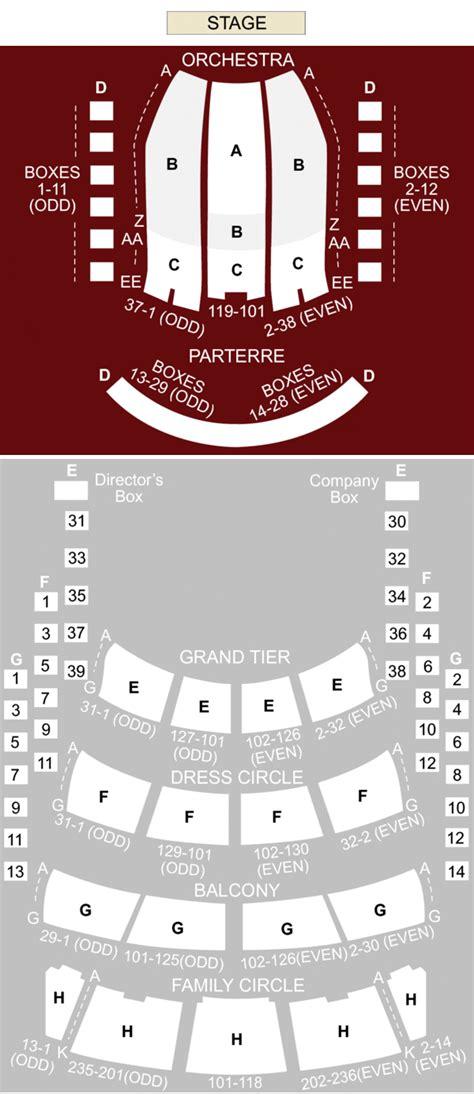 Blackpool Opera House Floor Plan Seating Plan Blackpool Opera House