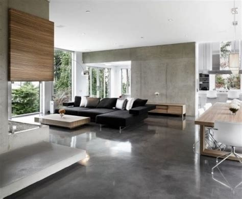 Extravaganza Concrete Walls Home Design And Decor Interior Design Flooring