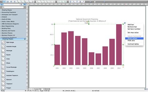 software for creating graphs bar diagrams for problem solving economics and financial