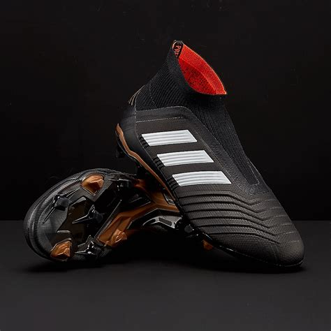 Sepatu Bola Adidas Predator 2018 adidas predator 18 fg junior boots firm ground cp8982 black white solar
