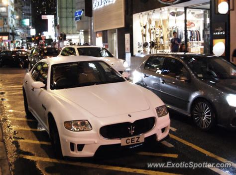 maserati quattroporte spotted in hong kong china on 06 22