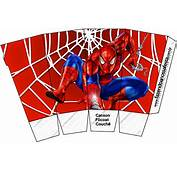 Spiderman Free Printable Boxes  Oh My Fiesta In English