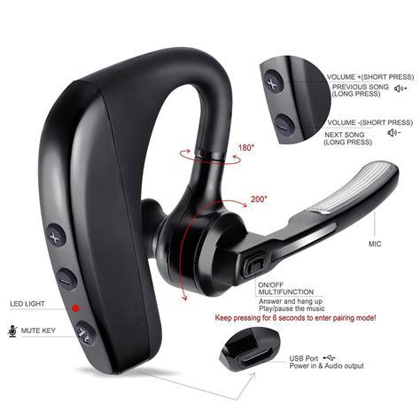 Headset Iphone 1 k10 bluetooth headset v4 1 noise reduction