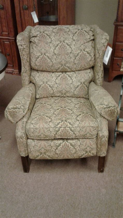 lane wingback recliner chair lane wingback chair delmarva furniture consignment
