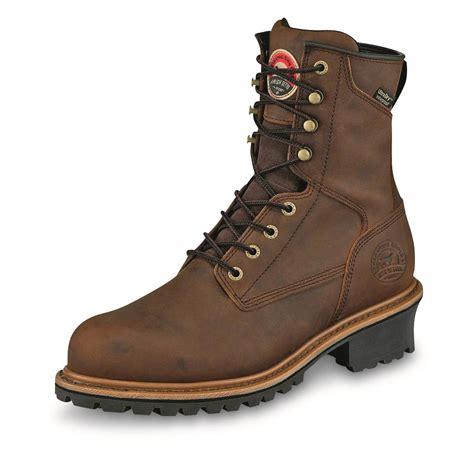 setter s boots setter s mesabi waterproof 8 quot logger boots