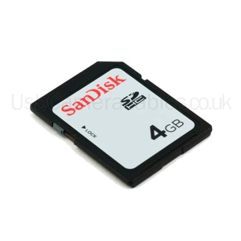 Sandisk Sdhc sandisk 4gb class 4 sdhc sd memory card