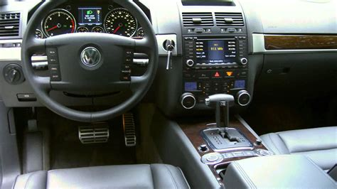 volkswagen touareg interior 2004 2004 vw touareg youtube