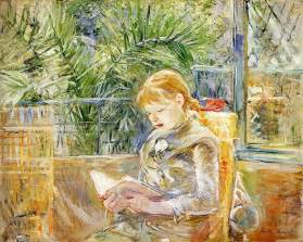 Berthe Morisot In The Dining Room Favourite Paintings 8 Berthe Morisot La Lecture Reading