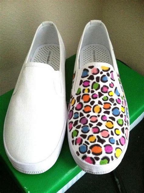 diy shoe decoration 10 creative leopard print shoes ideas hative