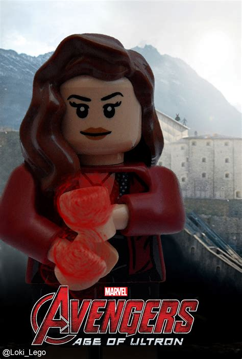 Poster The Age Of Ultron Scarlet Witch Ukuran A3 lego age of ultron posters of quicksilver and scarlet witch future ruler of midgard