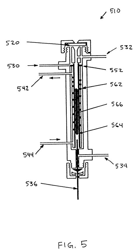 gc sections patent us6498042 ptfe matrix in a sle inlet liner and