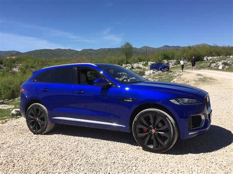 blue review 2017 jaguar f pace review class freshman