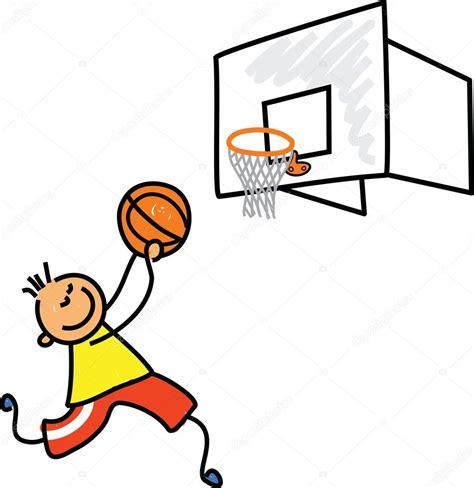 imagenes navideñas de dibujos animados dibujos animados infantiles de baloncesto vector de