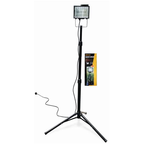 halogen l with stand halogen floodlight with adjustable tripod stand ff