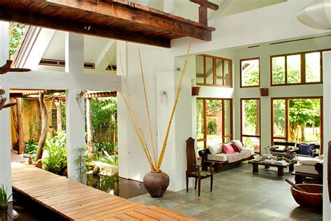 nature themed house a nature inspired home in batangas rl